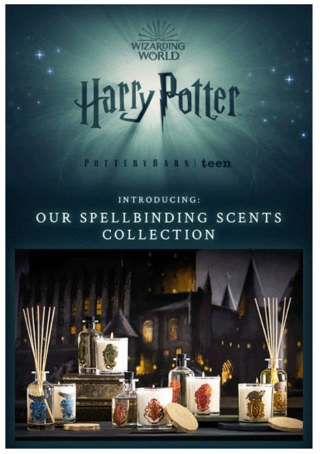 Introducing Spellbinding Scents Inspired by the Wizarding World from Pb Teen