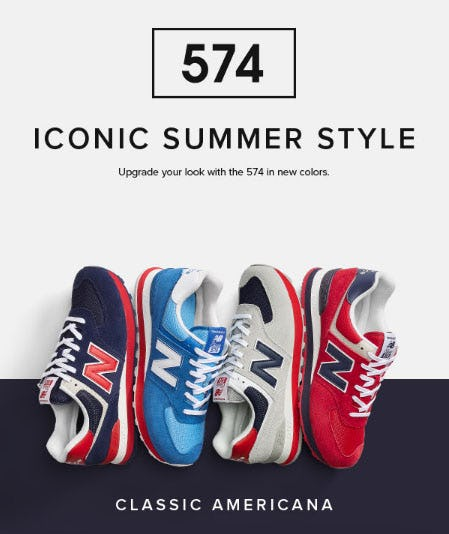 The 574 in Summer Colors from New Balance