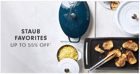 Staub Favorites up to 55% Off from Williams-Sonoma