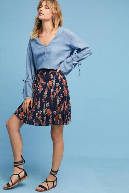 Tia Floral Skirt