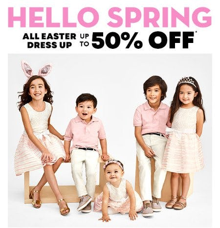 Up to 50% Off All Easter Dress Up
