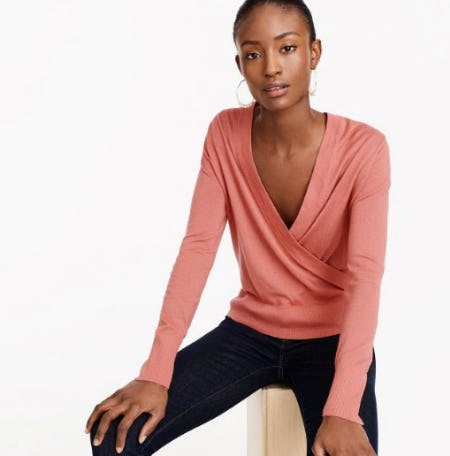 Merino Wrap Sweater