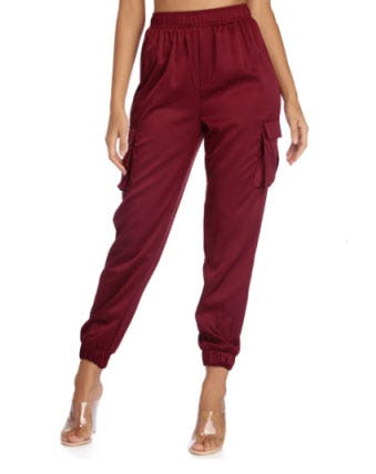 Satin Escape Joggers from Windsor