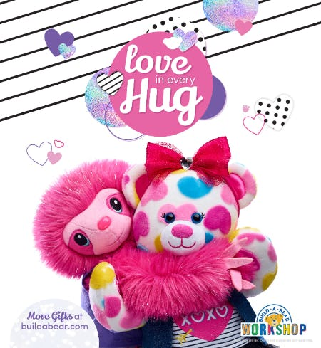 Experience Love in Every Hug with Valentine's Day Gifts from  Build-A-Bear!® from Build-A-Bear Workshop
