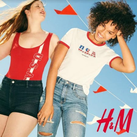 4th of July Family from H&M
