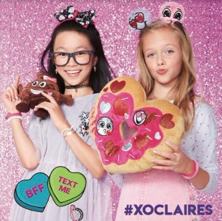 We Heart Our Valentine's at Claire's!