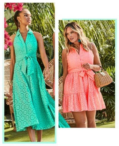 Shirtdresses Never Go Out of Style from Lilly Pulitzer