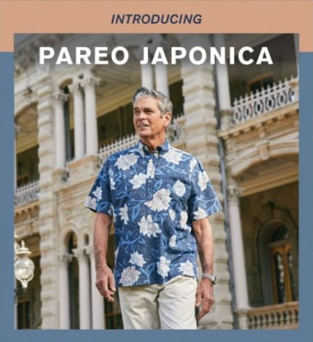 Your New Every Day Aloha Shirt: Pareo Japonica from Reyn Spooner
