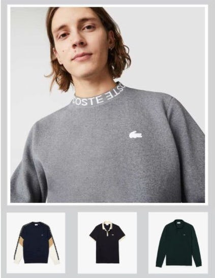 Best-Selling New Arrivals from Lacoste