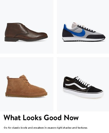Shoes for Fall and Beyond