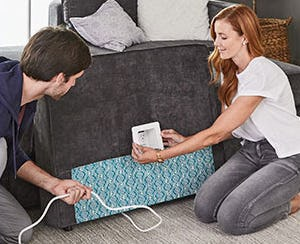 The New Sactionals Power Hub from Lovesac Alternative Furniture