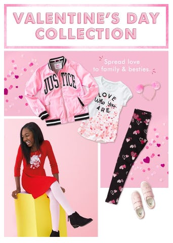 Valentine's Day Collection from Justice