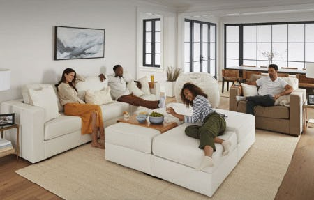 Brushed Weave Covers from Lovesac Designed For Life Furniture Co