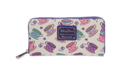 Mad Tea Party Wallet by Loungefly