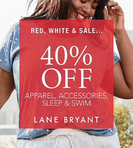 Red, White & Sale! from Lane Bryant