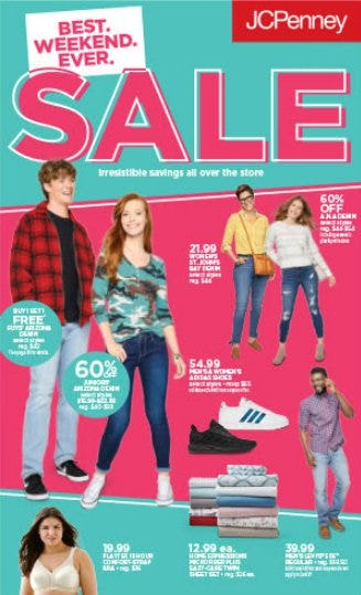 Best. Weekend. Ever. SALE!! from JCPenney