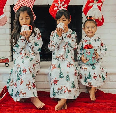 PJs for the Whole Family from Pottery Barn Kids