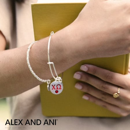 New Sorority Charms from ALEX AND ANI