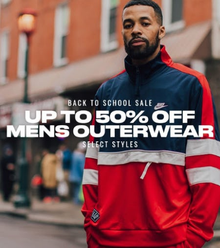 Up to 50% Off Men's Outerwear from DTLR