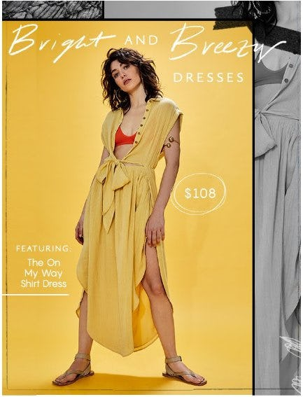 Bright and Breezy Dresses from Free People