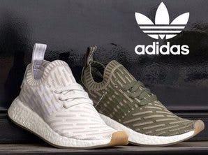 Womens adidas NMD R2 Primeknit Athletic Shoe
