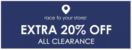 Extra 20% Off All Clearance from Pottery Barn Kids