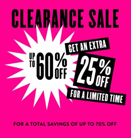 Clearance Sale up to 60% Off from Nordstrom
