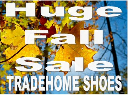 Huge Fall Sales Event
