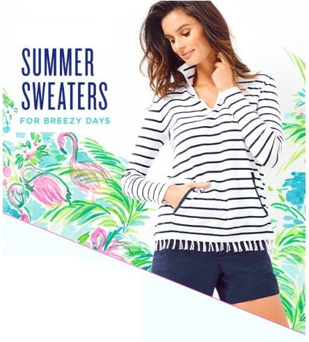 Summer Sweater Bestsellers from Lilly Pulitzer