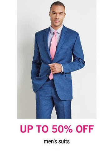Up to 50% Off Men's Suits from Belk