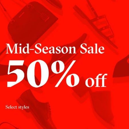Mid-Season Sale! from ALDO