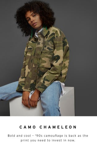 Camo Chameleon from TOPSHOP
