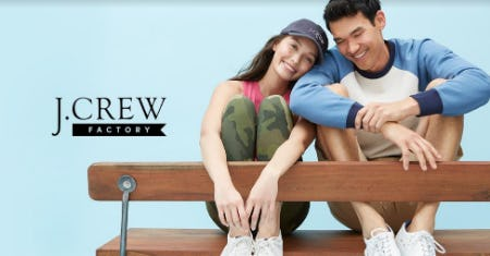 UP TO 70% OFF STOREWIDE! from J.Crew Factory