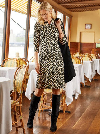 Show Your Stripes in Tiger Print from J. Mclaughlin