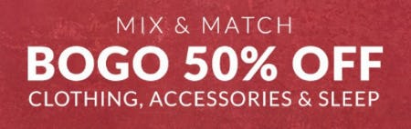 BOGO 50% Off Clothing, Accessories & Sleep from Lane Bryant