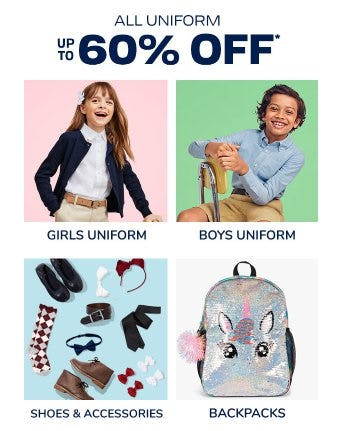 All Uniform up to 60% Off