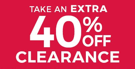 Take an Extra 40% Off on Clearance from Stein Mart
