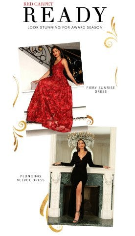 Red Carpet Ready in Stunning Dresses from Windsor
