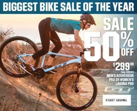 Biggest Bike Sale of the Year from Dick's Sporting Goods