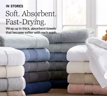Shop Our Best Bath Towels from Pottery Barn