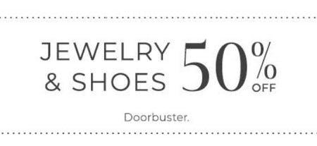 Jewelry & Shoes 50% Off from Lane Bryant