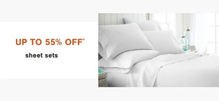 Up to 55% Off Sheet Sets from Ashley Homestore