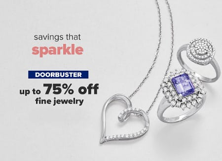 Up to 75% Off Fine Jewelry from Belk
