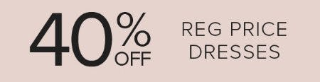 40% Off Reg Price Dresses from Torrid