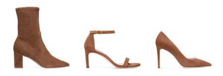 Spring's Rich Brown Hues from STUART WEITZMAN
