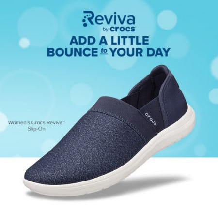 New Crocs Reviva Slip-Ons for Women from Crocs