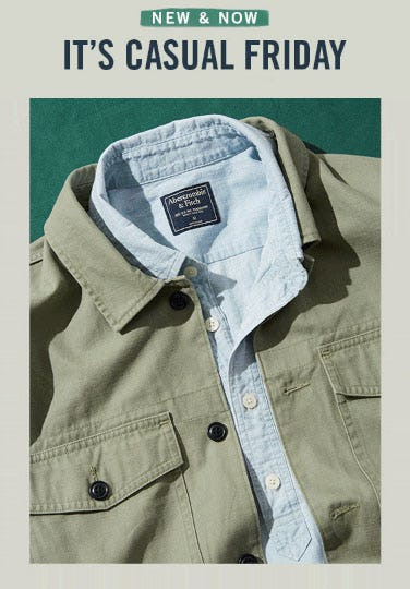 Shop New Arrivals from Abercrombie & Fitch