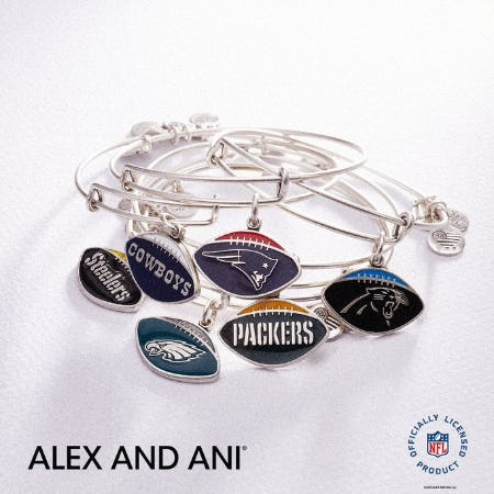 New NFL Charms from ALEX AND ANI