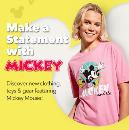 New Arrivals for Mouseketeers of All Ages from Disney Store