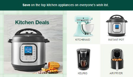 Save on Top Kitchen Appliances from Target